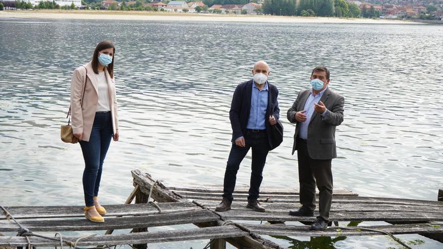 Néstor Rego urge a Costas la concesión para rehabilitar los astilleros de Moaña