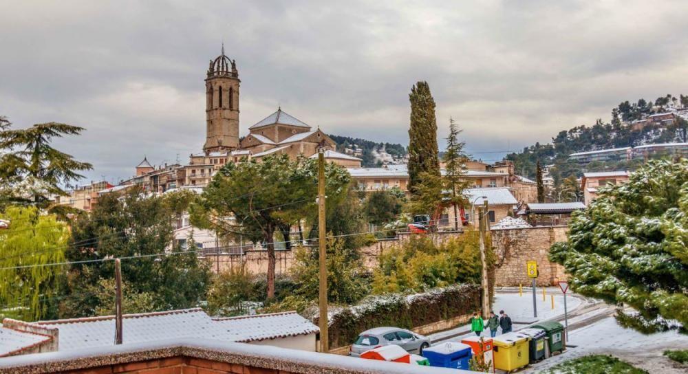 La neu comença a fer acte de presència a les comarques de la Catalunya Central