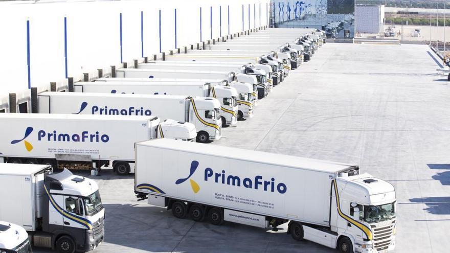 Primafrio abrirá en 2018 en Alhama la planta de transporte más grande de la UE