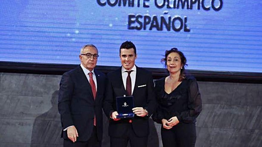 Gómez Noya, Chourraut, Perales y González reciben la Orden Olímpica