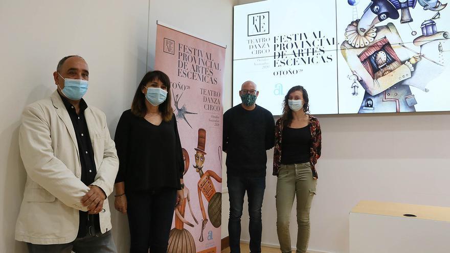 La Diputación rescata a 37 compañías de artes escénicas de la provincia