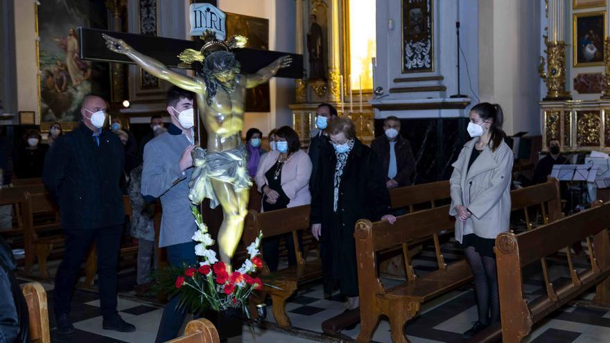 Semana Santa en el interior de las iglesias
