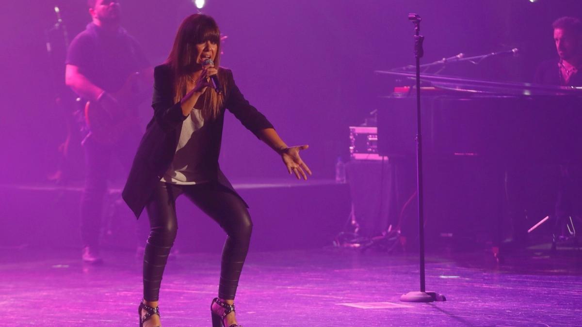 Un concierto de Vanesa Martín en Vigo, hace cuatro años.