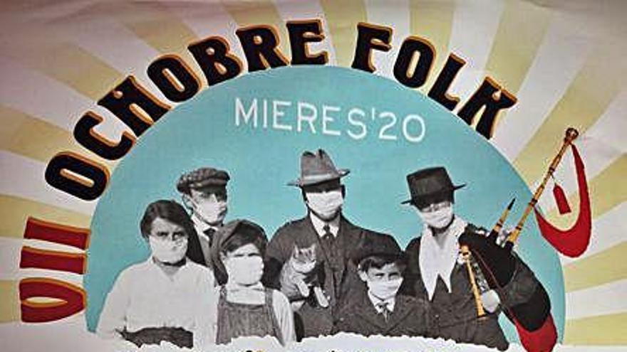"""El """"Ochobre Folk"""" vuelve a Mieres para apoyar al sector cultural y """"los eventos seguros"""""""