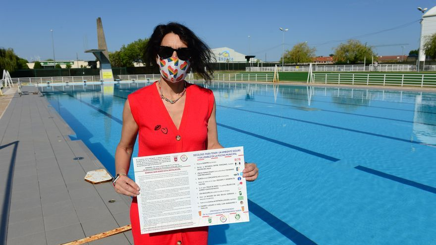Plasencia abre su piscina de verano este viernes, con un aforo de 440 personas