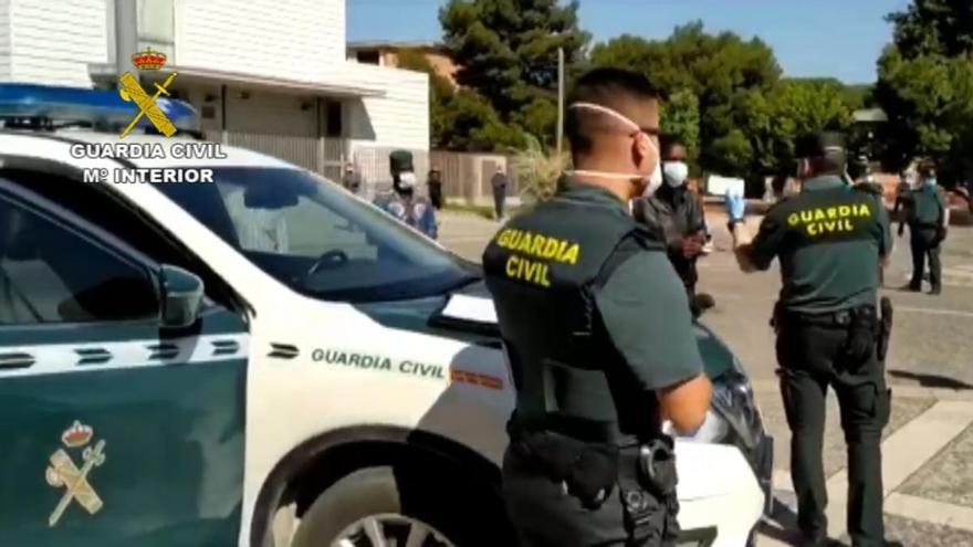 Detenidas 14 personas entre Málaga, Sevilla y Ceuta en el desmantelamiento de una red de tráfico de cocaína