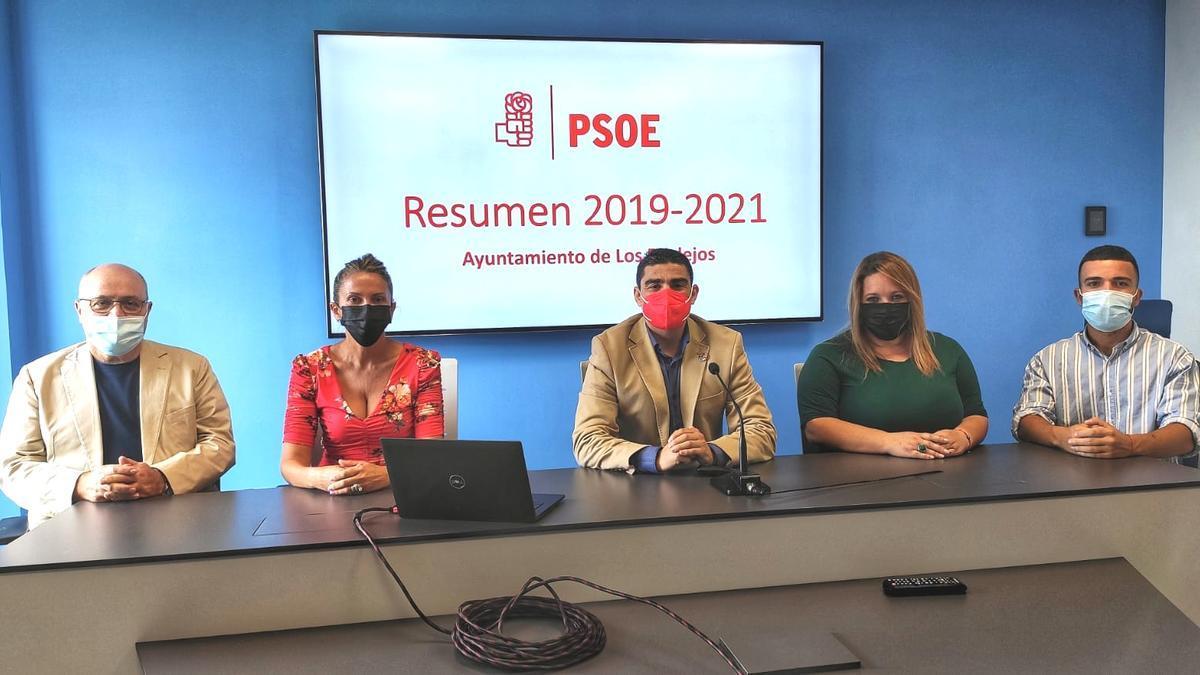 Rueda de Prensa del PSOE de Los Realejos
