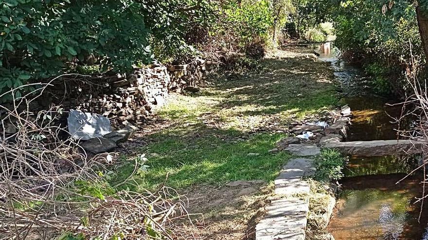 La Diputación y Riofrío mejoran el entorno del río a su paso por el pueblo