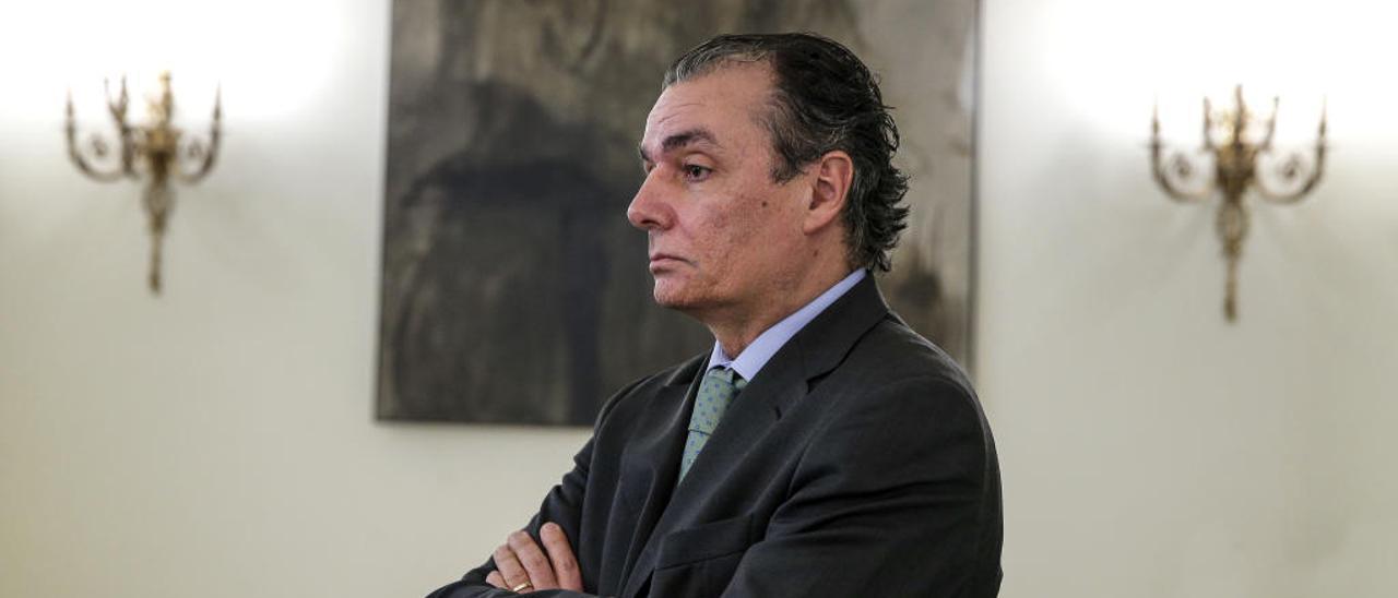 Salvador Navarro, presidente de la CEV.