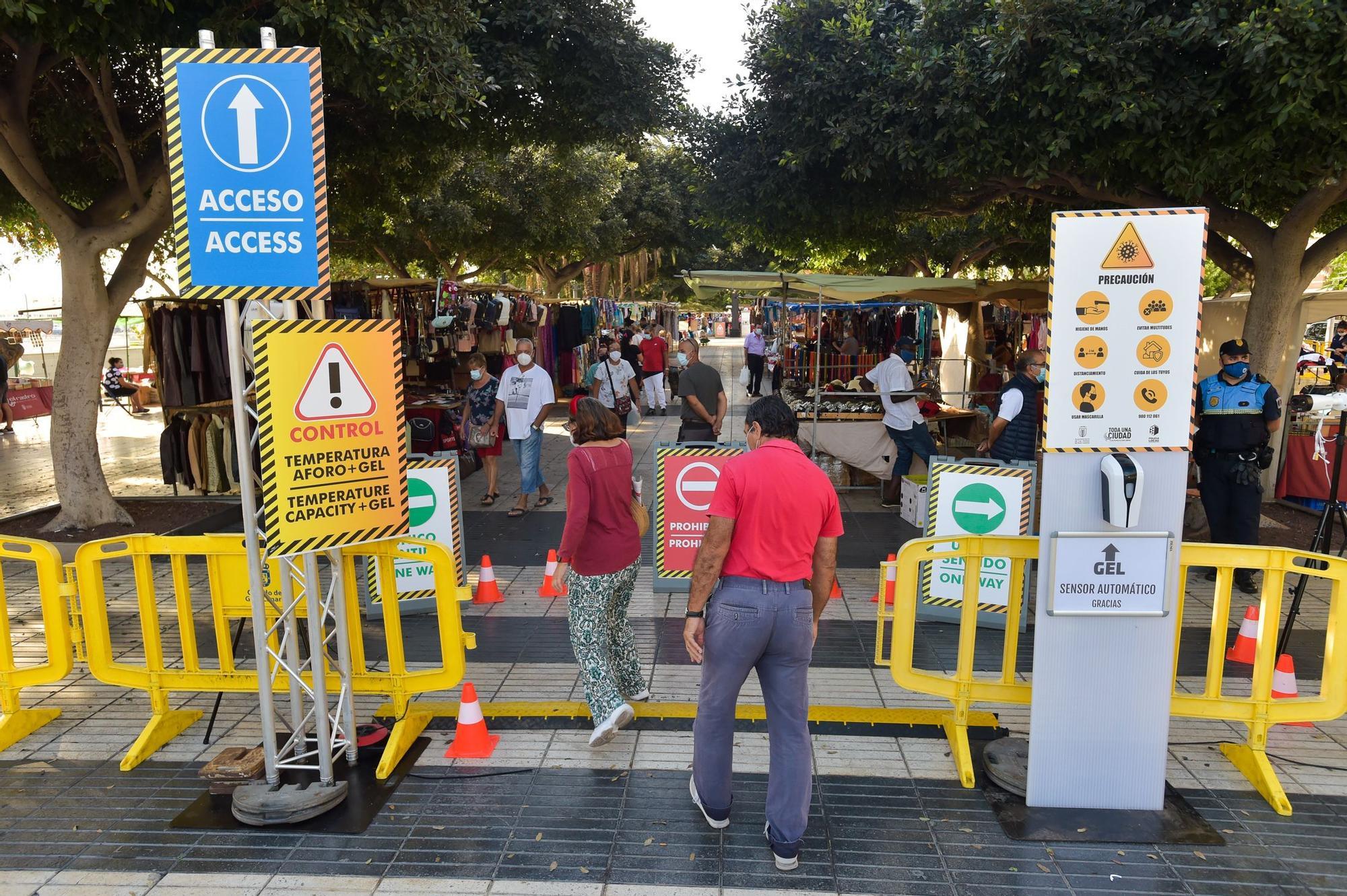 Domingo tranquilo en Las Palmas de Gran Canaria (18/10/20)