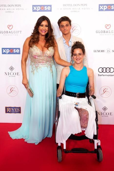 Celebración de la Gala Global Gift en Marbella.