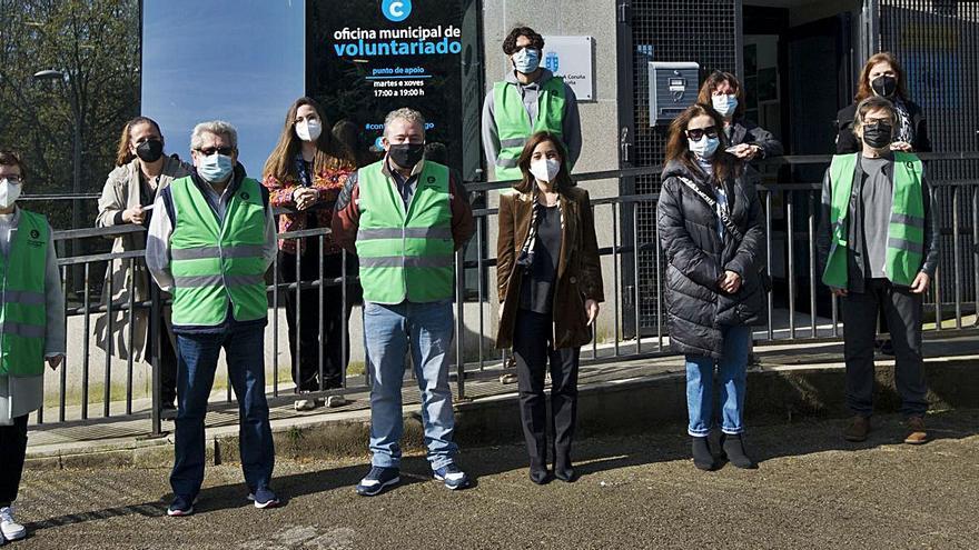La nueva oficina de voluntariado canalizará iniciativas de las entidades de la ciudad