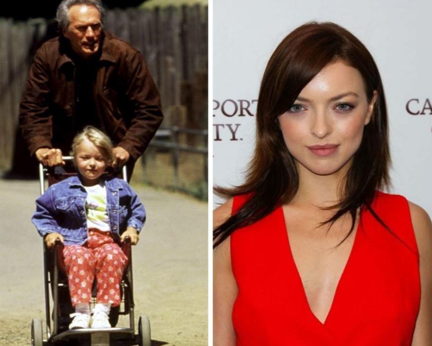 Una de las hijas de Clint Eastwood. Harry El Prolífico tiene ocho hijos de seis mujeres diferentes.