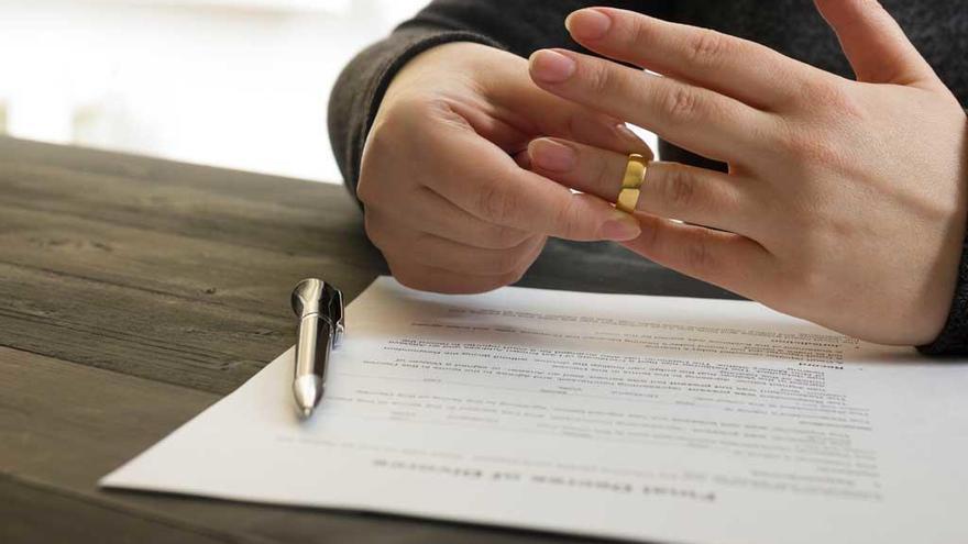 Cerca del 60% de los matrimonios acaban en divorcio en España