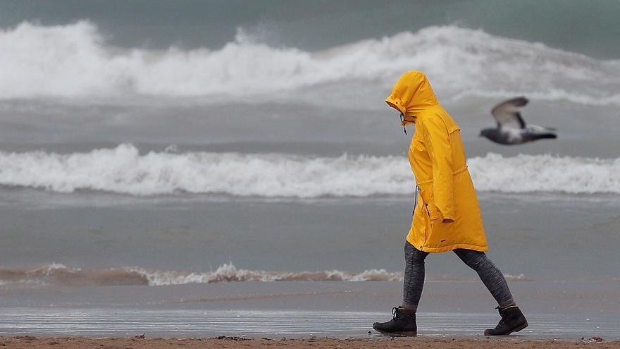 Llega una nueva DANA a Valencia que dejará lluvias fuertes y tormentas en las próximas horas