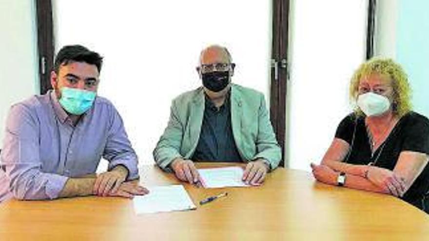 La Creu Roja signa un conveni amb l'Ajuntament de Sallent per rebre suport en les tasques de benestar social