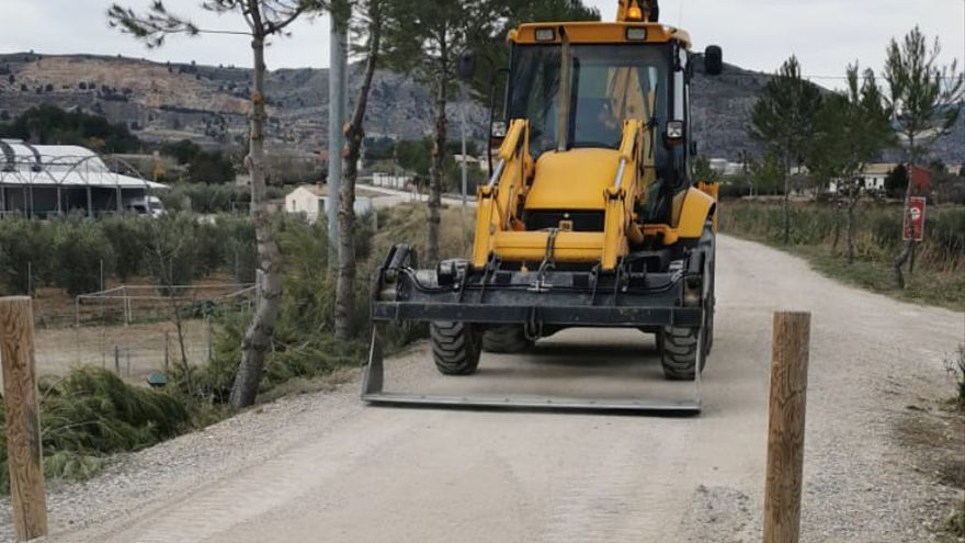 El Ayuntamiento de Cehegín sigue trabajando en la adecuación de los espacios públicos