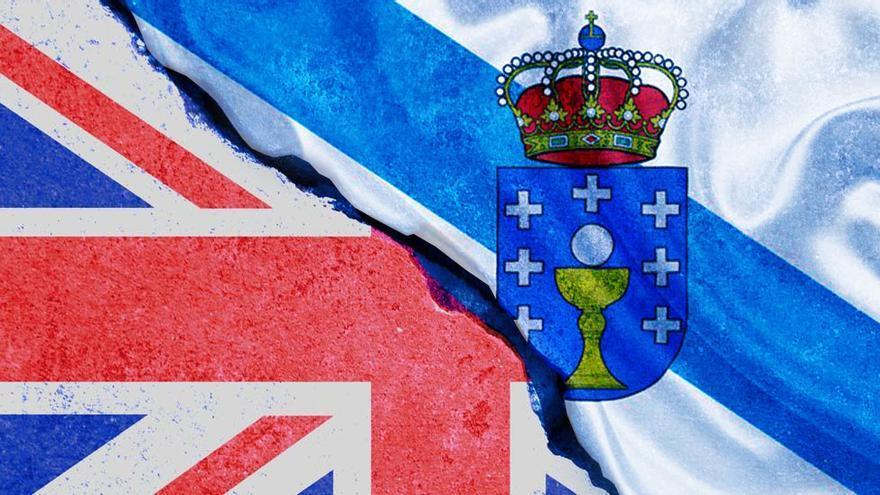 """El comercio exterior de Galicia con Reino Unido se desploma un 40% tras el """"Brexit"""""""