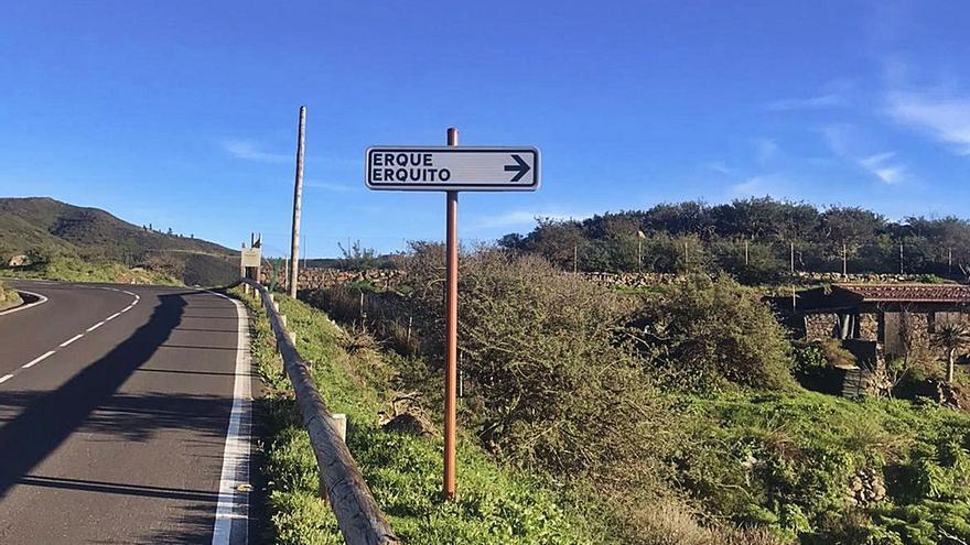 El Cabildo de La Gomera adjudica las obras de mejora del acceso a Erque y Erquito