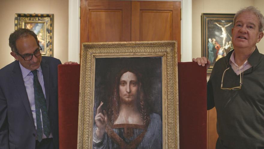 La rocambolesca historia del Leonardo perdido, el cuadro más caro de la historia, salta al cine