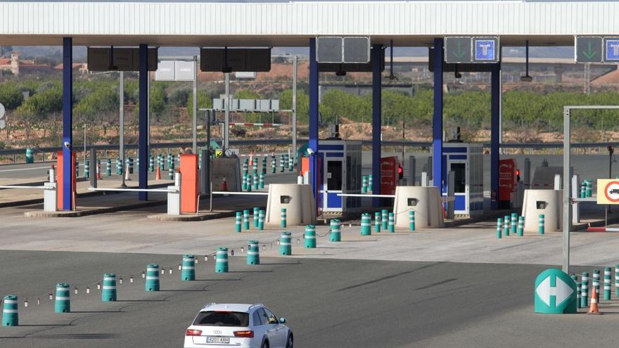 La autopista Cartagena-Vera será gratuita de madrugada
