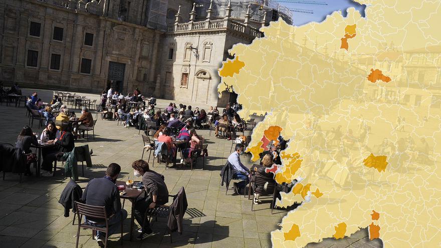 La Xunta retrasa el toque de queda a las 23 horas y permite las cenas en restaurantes con requisitos