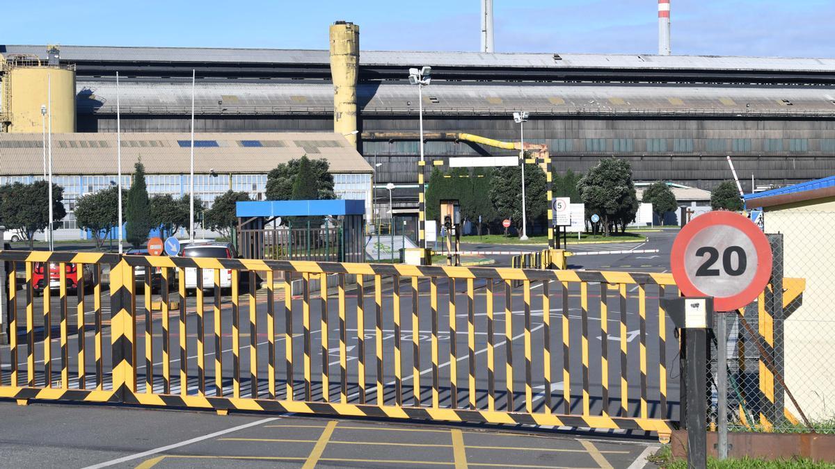 Instalaciones de la planta de Alu Ibérica en A Coruña.