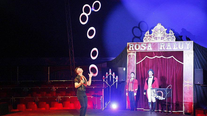 El circ Històric Raluy i Rosa  Raluy tornen a Girona per Fires