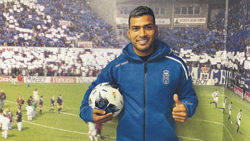 Nahuel Leiva, cedido al Real Oviedo sin opción de compra