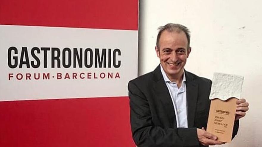 El Gastronomic Forum Barcelona premia a títol pòstum el xef Xavier Sagristà
