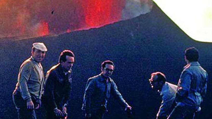 La Palma vive el temor a sufrir otro volcán Teneguía 50 años después
