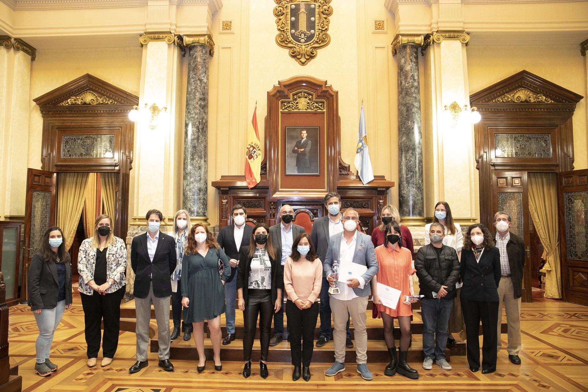 Los ganadores del Premio Pérez Lugín reciben sus galardones