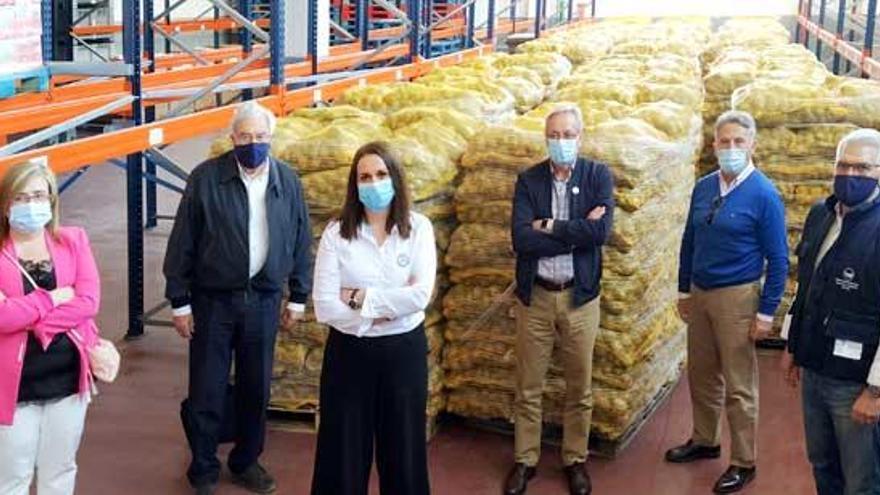 Coren compra 400 toneladas de patata de A Limia para donarlas a bancos de alimentos