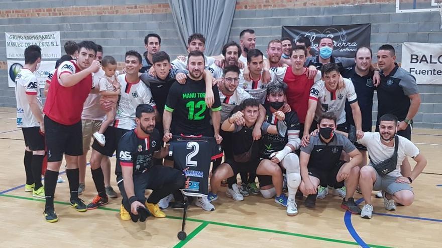 El Grupo López Bolaños de Fuente del Maestre asciende a Segunda B