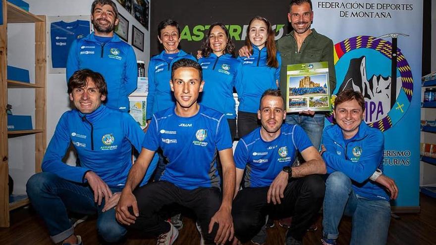 Presentada la selección asturiana de carreras de montaña FEMPA