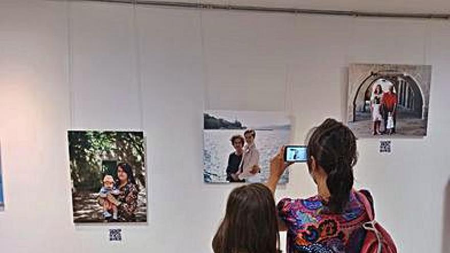 Travesía celebra el Día de los Abuelos con una exposición fotográfica