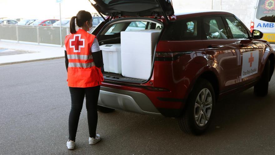 Cruz Roja reparte medicinas a pacientes de toda la provincia de Zamora