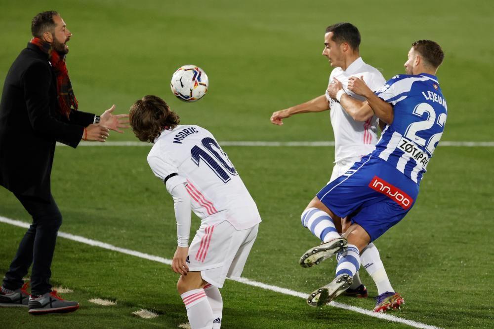 LaLiga Santander: Real Madrid - Alavés.