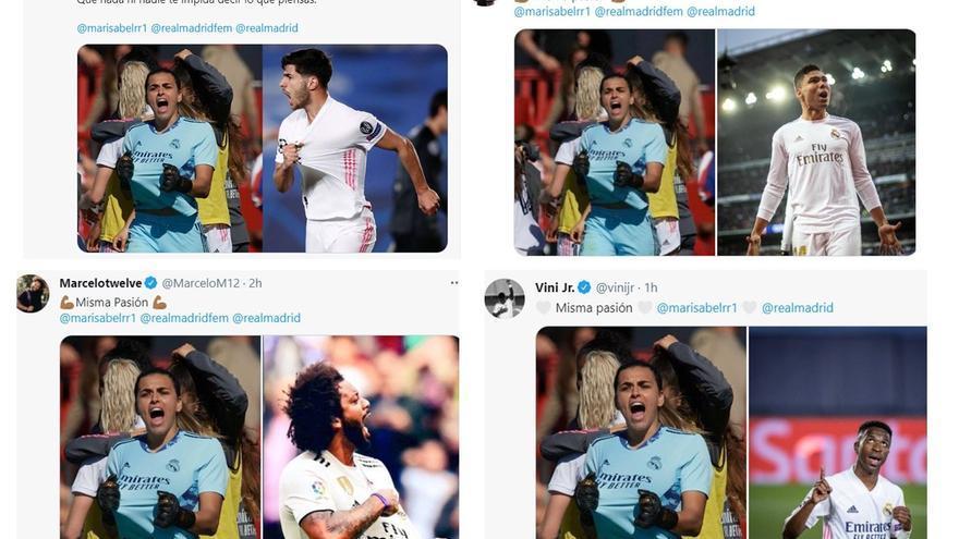 'Misma pasión', un movimiento universal contra el machismo en el fútbol iniciado por Marco Asensio
