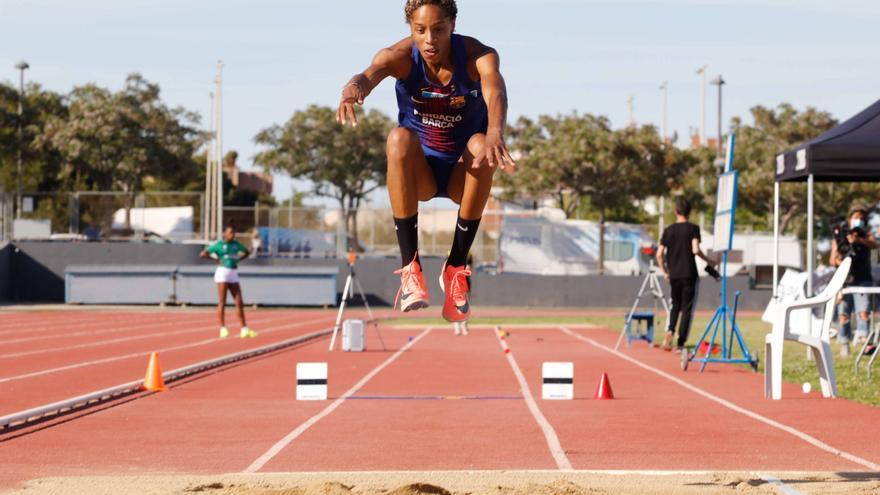 Yulimar Rojas fija en Ibiza la mejor marca mundial del año en triple salto