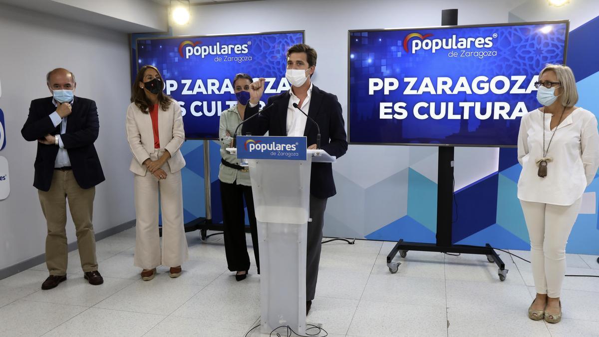 El PP ha presentado su plan cultural para Aragón.