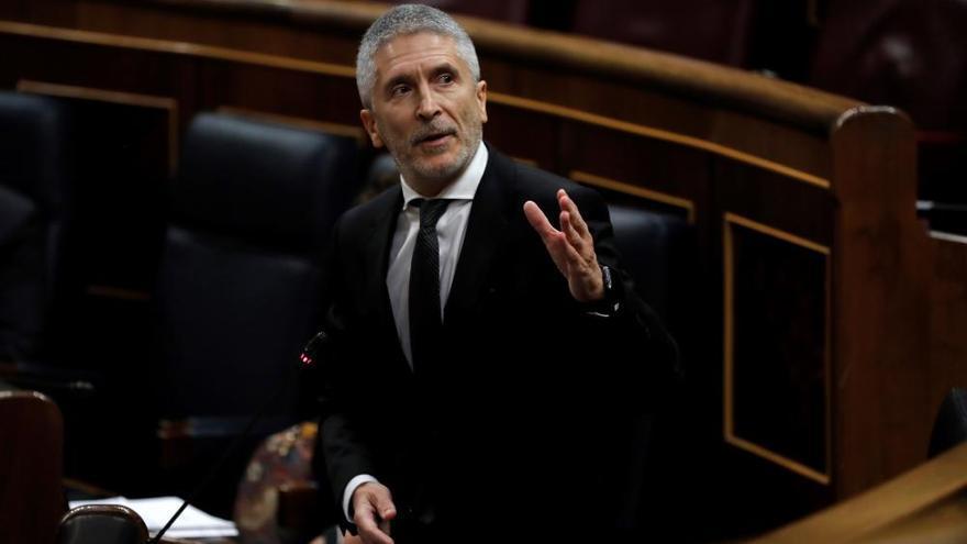 Marlaska dice que no dimitirá tras la crisis migratoria