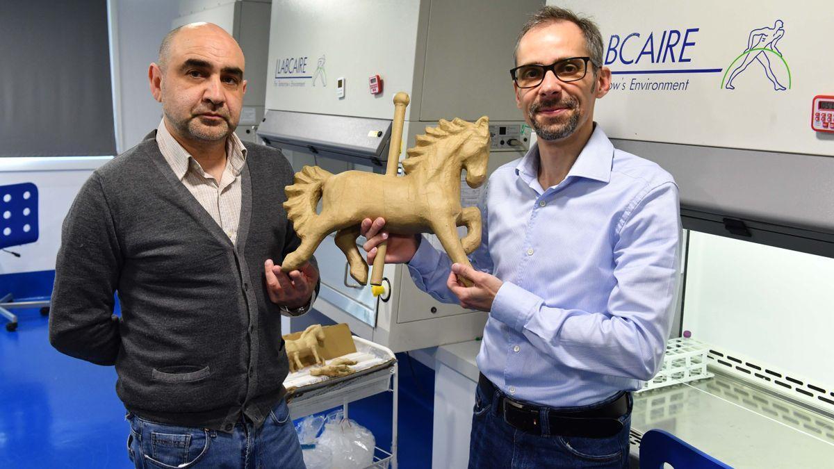 Manuel Hermida y Luis Mariñas, socios de Centauri Biotech.