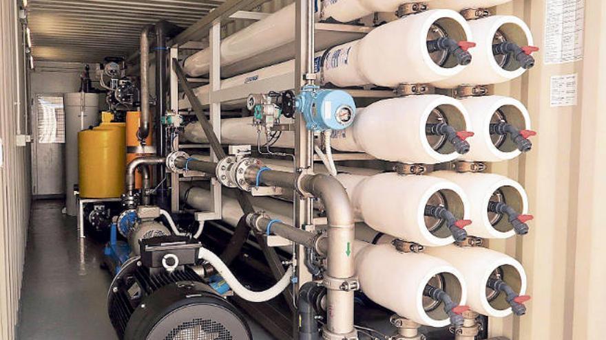 La empresa Elmasa lleva a Tenerife y El Hierro su negocio de la desalación