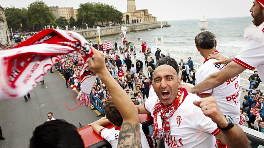 """Abelardo: """"Este Sporting me hace ser optimista"""""""