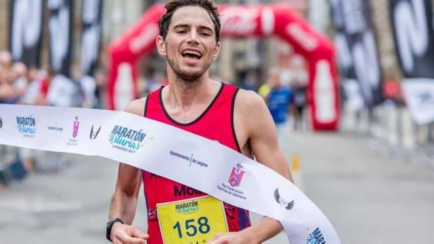 Félix Pont (Automoción Moll) gana la I Maratón de Asturias