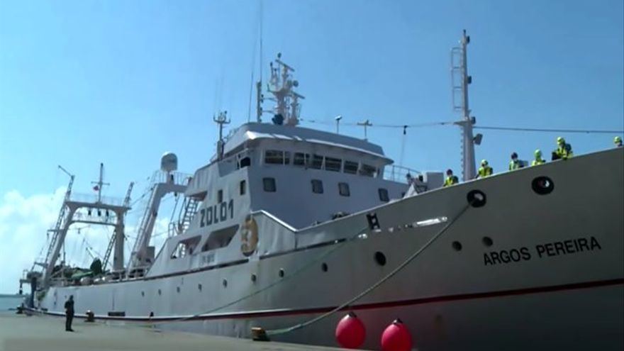Estables los tripulantes con Covid del barco llegado desde Gran Canaria a Uruguay