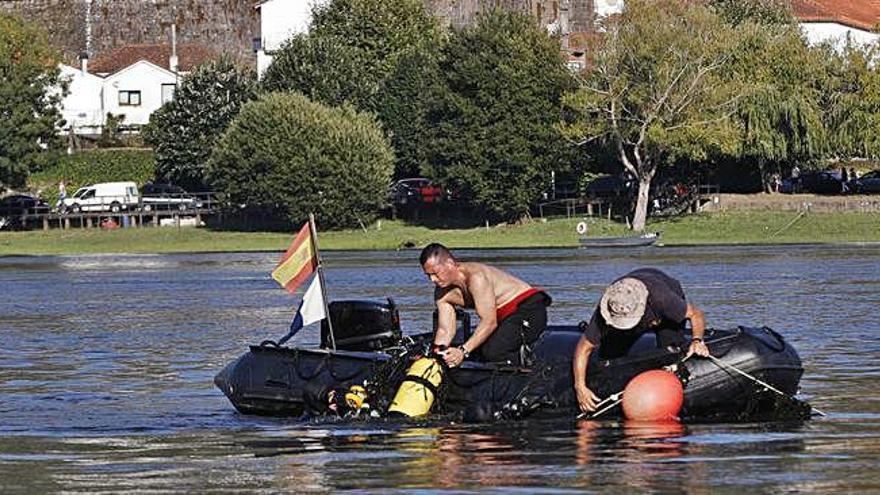 Sin rastro del atleta luso de 24 años ahogado en el río Miño