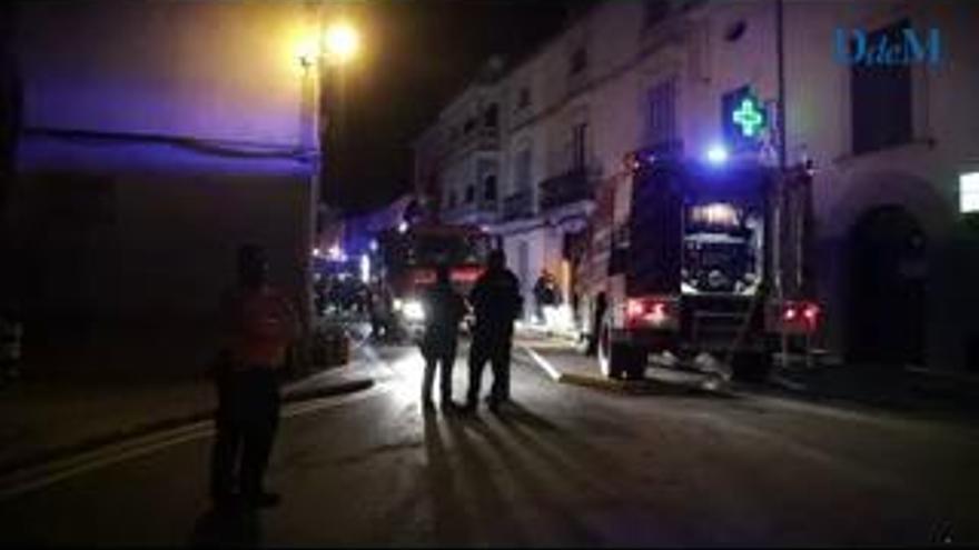 Una gran explosión en una lavandería en Mallorca deja tres heridos y graves daños