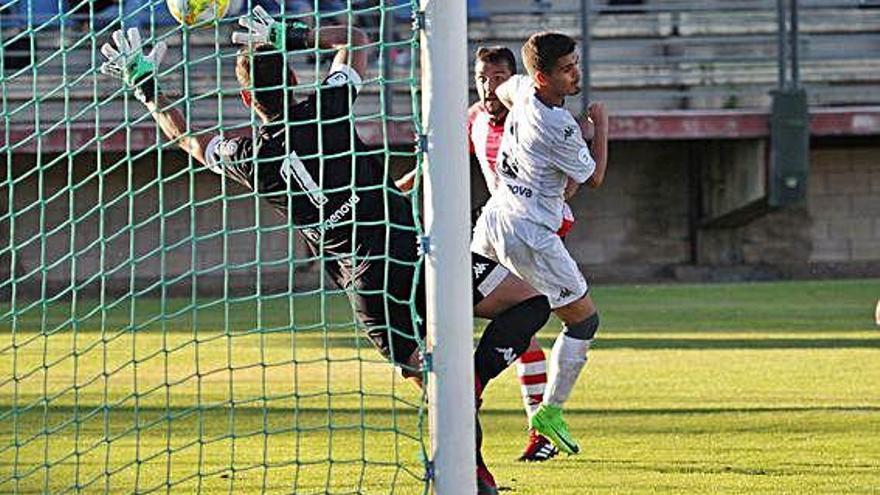 """David Movilla: """"La reacción tras su gol ha sido clave"""""""